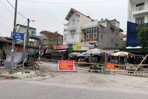 Hải Dương thực hiện cách ly y tế với 3 khu dân cư ở Kim Thành