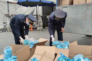 Khởi tố vụ nhập khẩu lô hàng găng tay đã qua sử dụng của Công ty TNHH Ngọc Diệp