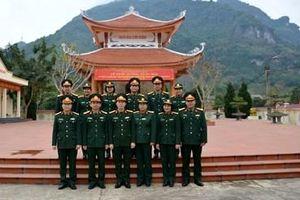 Ban Công đoàn Quốc phòng hành quân về nguồn