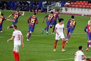 Barca trải qua 5 trận phải bước vào hiệp phụ mùa này