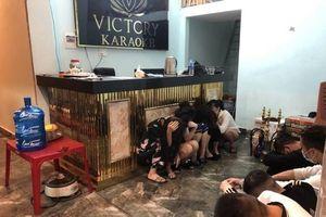 Khởi tố nhóm đối tượng tổ chức sử dụng ma túy tại quán karaoke