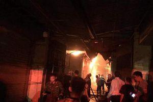 Điện Biên: Chợ Noong Bua cháy lớn, thiệt hại hàng trăm triệu đồng
