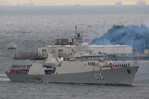 Hai tàu hộ vệ tên lửa của Việt Nam lần đầu thi đấu Army Games