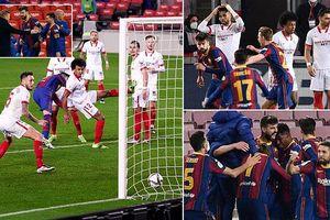 Ngược dòng ngoạn mục, Barcelona giành vé chung kết Cúp Nhà Vua
