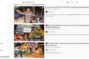 Quay nội dung 'Thầy chùa ăn thịt chó' ở Củ Chi, nhiều Youtuber bị công an mời làm việc