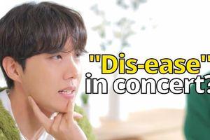 J-Hope miêu tả 'Dis-ease' bản live – Jungkook lọt top sao có hình xăm đẹp