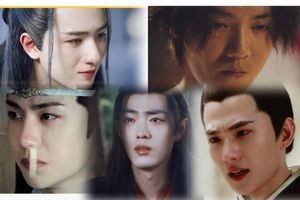 10 nam thần khóc đẹp nhất Cbiz: Tiêu Chiến khốn khổ, Dương Dương - Vương Nhất Bác đau đến tận tim can!