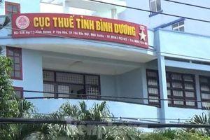 Bình Dương: Tạm đình chỉ công tác cán bộ cục thuế đang bị khởi tố
