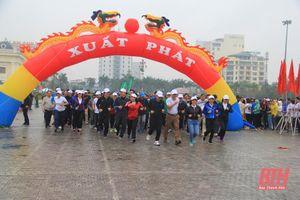 Lễ phát động 'Ngày chạy Olympic vì sức khỏe toàn dân' tỉnh Thanh Hóa năm 2021 dự kiến diễn ra vào ngày 27-3