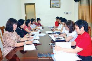 Đại hội đại biểu phụ nữ các cấp: Phải đảm bảo yêu cầu, đúng tiến độ