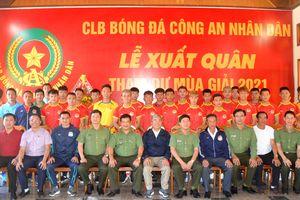 Câu lạc bộ bóng đá CAND xuất quân tham dự mùa giải năm 2021
