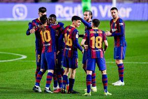 Chơi hơn 2 người, Barca thắng đậm Sevilla để vào chung kết Cúp nhà Vua Tây Ban Nha