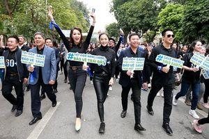 Hà Nội hưởng ứng Chiến dịch Giờ trái đất năm 2021