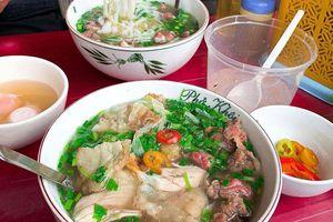 Nhiều món ăn Hà Nội lọt top 100 món ăn đặc sản Việt Nam