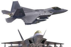 Chiến đấu cơ tàng hình KF-X Hàn Quốc mang 'linh hồn' của F-22 Raptor