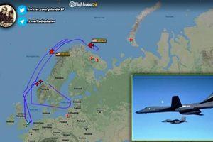 Máy bay B-1B Lancer Mỹ thực hiện tấn công mô phỏng gần biên giới Nga