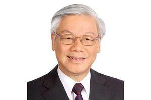 Thư, điện chúc mừng Tổng Bí thư, Chủ tịch nước Nguyễn Phú Trọng