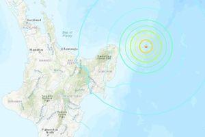 Động đất mạnh ở New Zealand gây cảnh báo sóng thần