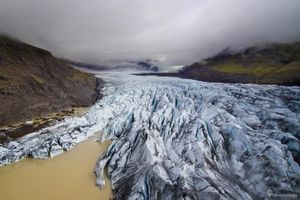 Sông băng khổng lồ ở Iceland