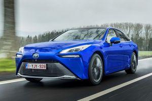 Toyota Mirai 2021 được ra mắt tại châu Âu