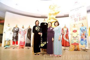 Bảo tàng Phụ nữ tiếp nhận nhiều hiện vật áo dài đặc biệt