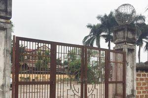 Bị thay cổng sắt không phù hợp: Di tích quốc gia đặc biệt đình Tây Đằng đã được trả về nguyên trạng