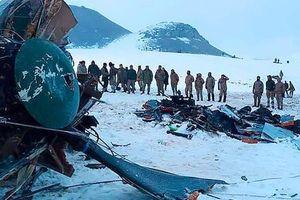 Trực thăng quân sự rơi, tướng Thổ Nhĩ Kỳ tử nạn