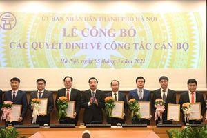 Hà Nội thay đổi một loạt lãnh đạo chủ chốt