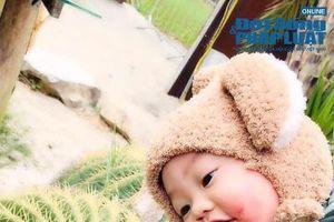 Mẹ em bé 'má đỏ hây hây' trong bộ ảnh Đà Lạt gây bão CĐM: 'Con nhây là do gen di truyền gia đình'