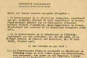 Chủ tịch Hồ Chí Minh với việc ký hai Hiệp định quốc tế đầu tiên của Việt Nam năm 1946