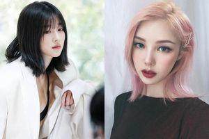 'Copy' ngay 8 kiểu tóc ngang vai cực xinh như sao Hàn là trẻ ra cả chục tuổi