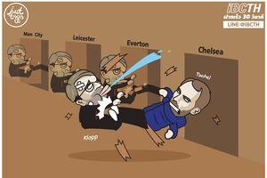 Ảnh chế: Liverpool thua 5 trận liên tiếp tại Anfield trong 129 năm, Chelsea vào top 4