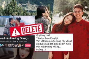 Ẩn ý của Hương Giang 'mệt mỏi thì nhẹ nhàng buông' khiến fan lo lắng, nghi vấn chia tay Matt Liu