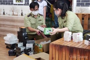 Đà Nẵng: Tạm giữ gần 3.500 sản phẩm thuốc lá điện tử không rõ nguồn gốc xuất xứ