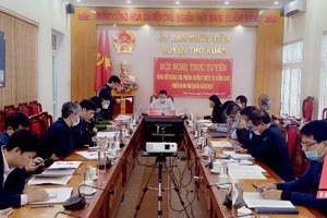 Huyện Thọ Xuân tu bổ, nâng cấp các tuyến đê với tổng kinh phí khoảng 80 tỷ đồng