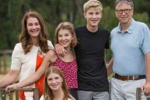 Sở hữu hơn trăm tỷ 'đô', vì sao Bill Gates chỉ cho mỗi người con 10 triệu USD?