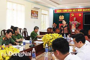 Giám sát công tác đảm bảo an ninh trật tự tại huyện Trảng Bom