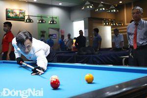 Khởi tranh Giải vô địch billiards tỉnh năm 2021