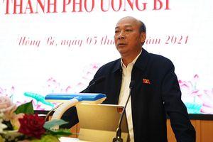 ĐBQH Lê Minh Chuẩn tiếp xúc cử tri Uông Bí và Đông Triều