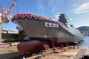 Nhật Bản hạ thủy khu trục hạm đa nhiệm hiện đại được đặt tên theo một dòng sông