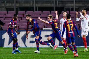 Barca 'vô đối' La Liga năm 2021