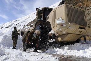 Lở tuyết nghiêm trọng ở Afghanistan khiến hơn 14 người thiệt mạng