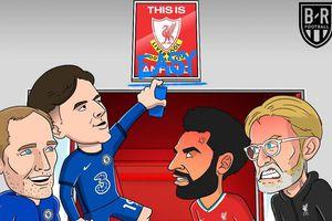 Biếm họa 24h: Sân Anfield thành 'kho điểm' ở Ngoại hạng Anh