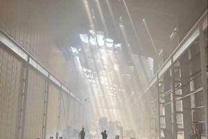 Tôn Hoa Sen lên tiếng về vụ cháy ở nhà máy Bình Dương