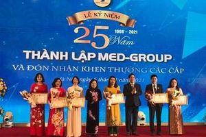 25 năm xây dựng, phát triển và đóng góp cho cộng đồng của MED-GROUP