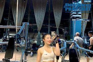 Nữ gymer Long Biên có vòng 3 'đốt mắt' cánh mày râu: 'Gym là hơi thở cuộc sống'