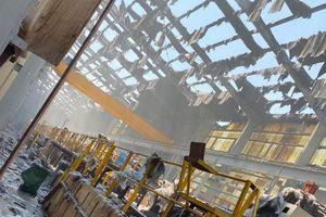 Tôn Hoa Sen: Vụ cháy không ảnh hưởng kết quả sản xuất kinh doanh