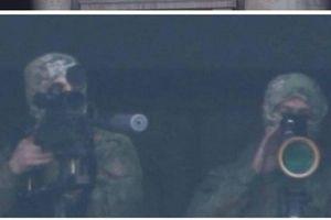 Lộ cảnh các tay súng bắn tỉa ẩn náu trong tòa nhà Quốc hội Armenia