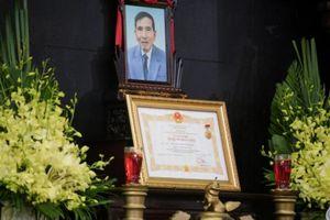 Toàn cảnh đám tang NSND Trần Hạnh