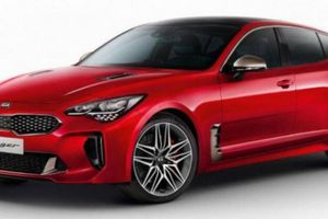 Kia Stinger 2022 ra mắt, động cơ mạnh mẽ, giá từ 851 triệu đồng